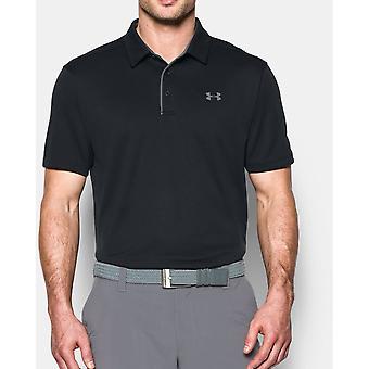 Unter Rüstung Mens Tech Feuchtigkeit-Wicknig schnell trocknend Polo-Shirt