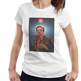 TV Zeiten Mick Jones Live Clash Damen T-Shirt