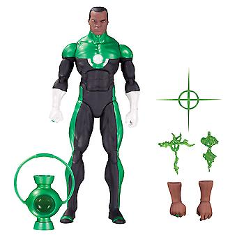 "Green Lantern John Stewart DC Icons ""Mosaic"" Action Figure"