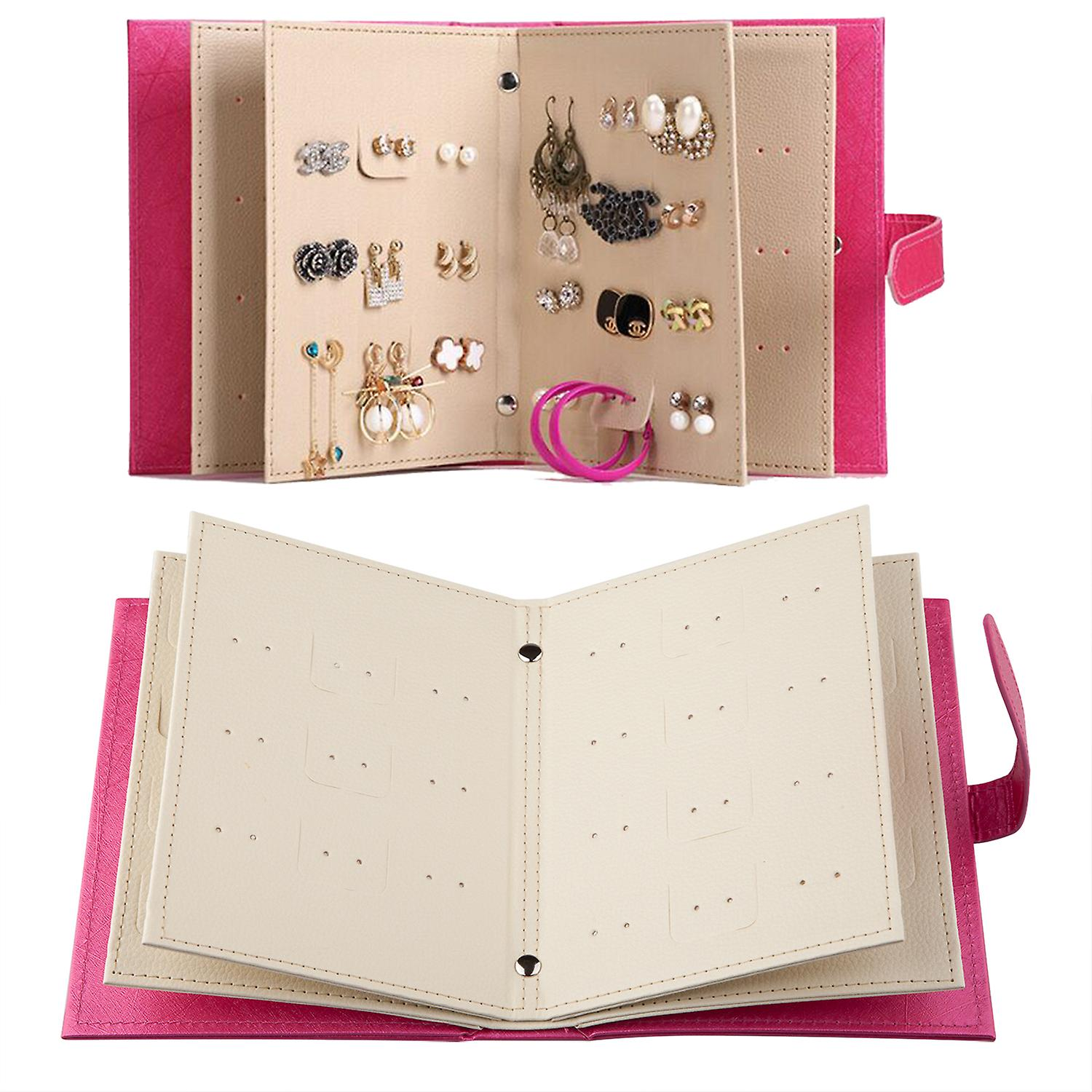 Pierced Earring Book Holder Keeping Earrings Safe Storage Solution - By TRIXES