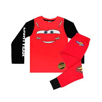 "Disney Pixar Cars Lightning McQueen ""Lightyear"" Boy's Novelty Character Pyjamas"