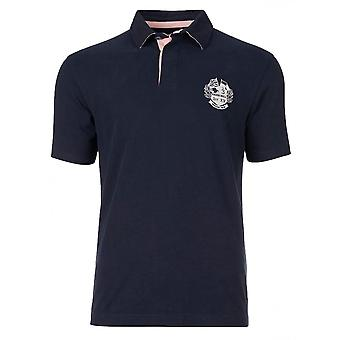 RAGING BULL Raging Bull Short Sleeve Rugby Polo