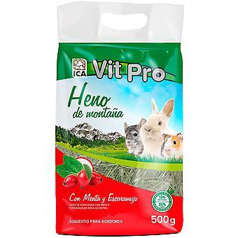 ICA Heno Vit Pro 500GrMenta ja Escarabu (Pienet Lemmikkieläimet, Hay)