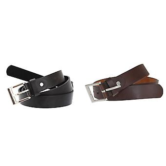 Forest Belts Mens 1.1in Bonded Leather Belt