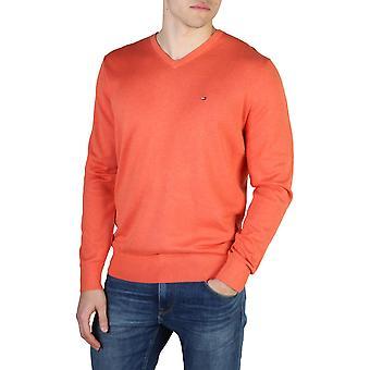 Tommy Hilfiger Original Men All Year Sweater - Orange Color 40594