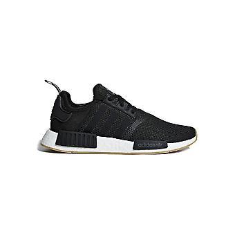 אדידס-נעליים-סניקרס-B42200_NMD-R1-יוניסקס-שחור, לבן-בריטניה 3.5