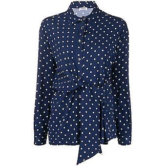 P.a.r.o.s.h. D380469812 Women's Blue Silk Skirt