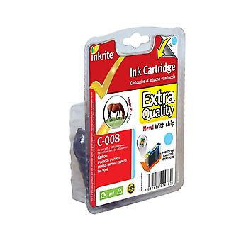 Inkrite NG printerinkt (Chipped) voor Canon iP6600D iP6700D Pro9000 - CLI-8PC PhCyan (paard)