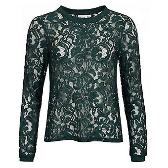 Saint Tropez Lace Long Sleeved Top