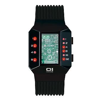 THE ONE Watch Men's Binary Wristwatch Split Screen SC202R5