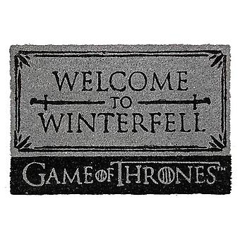 Game of Thrones, doormat-Welcome to Winterfell