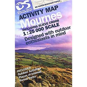 OSNI 1 -25000 Mournes Activity Including Slieve Croob - 9781911643029