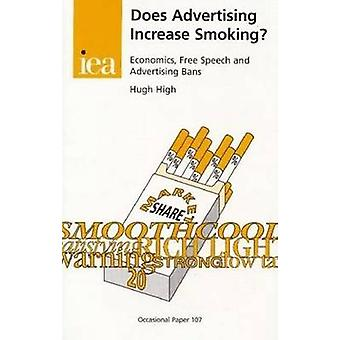 Does Advertising Increase Smoking? by Hugh High - 9780255364232 Book