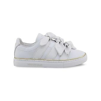 Trussardi - shoes - sneakers - 79A00230_W002_NATURAL - ladies - white,gold - 39