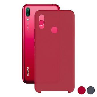 Mobiele cover Huawei Y7 2019 Contact TPU/Red