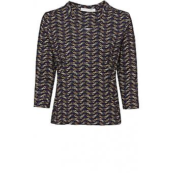 Bianca Jersey Chain Print Top