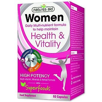 Nature's Aid Women's Multi-Vitamins & Minerals (+Superfoods) Caps 60 (138220)