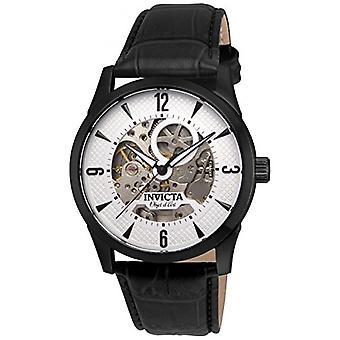Invicta  Objet D Art 22639  Leather  Watch
