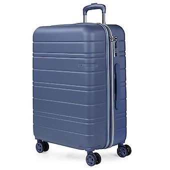 JASLEN San Marino Trolley M, 4 wielen, 44 cm, 89 L, blauw