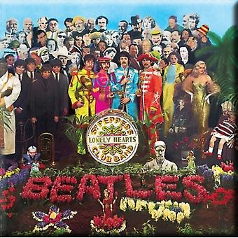 The Beatles Fridge Magnet Sgt Pepper new Official 76mm x 76mm