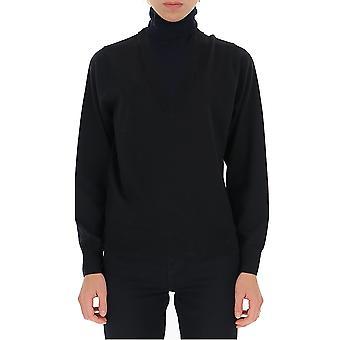 Dries Van Noten 112958701900 Women's Black Wool Sweater