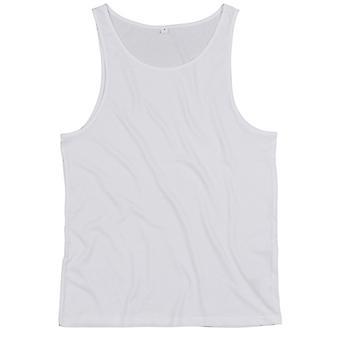 One By Mantis Unisex Drop Armhole Vest Top