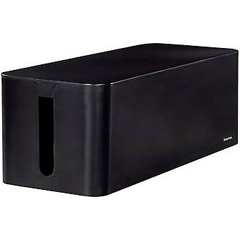 Caixa de Hama cabo plástico preto rígido (L x W x H) 40 x 15,6 x 13 cm 1 computador (es) 00020664