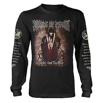 Cradle Of Filth Cruelty And Beast Longsleeve Official T-Shirt Unisex