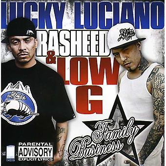 Lucky Luciano/Rasheed/Low G - Family Business [CD] USA import