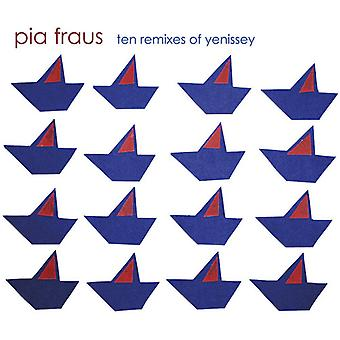 Pia Fraus - Ten Remixes of Yenissey [CD] USA import