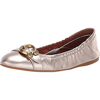 Coach Womens STANTON BLT Leather Closed Toe Ballet Flats