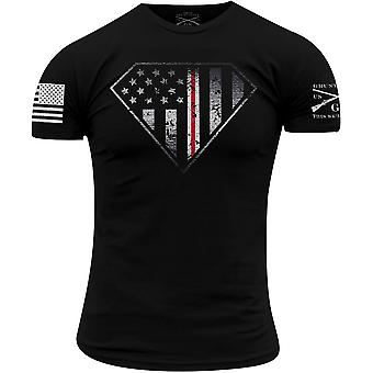 グラントスタイルナースラインクレストTシャツ - ブラック