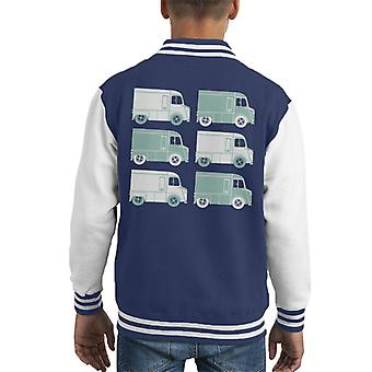 Citro�n Retro Type H Van Art Kid's Varsity Jacket