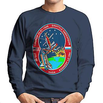 NASA-STS 89 versuchen MIR Raumstation Abzeichen Herren Sweatshirt