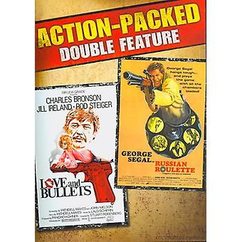 Love & Bullets/Russian Roulette Double Feature [DVD] USA import
