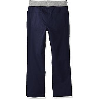 Brand - Spotted Zebra Boys' Big Kid Knit Waistband 5-Pocket Byxor, Nav...