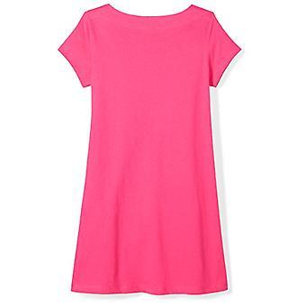 Brand - Spotted Zebra Toddler Girls' Knit Short-Sleeve A-Line T-Shirt ...