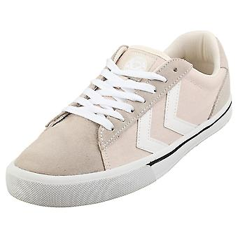 hummel Nile Low Mens Casual Trainers in Beige