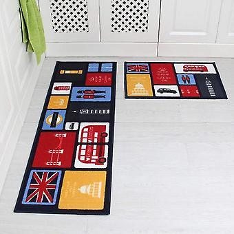 Modern Sponge Lining Absorb Water Long Kitchen Mat - Bath Carpet Floor Mat Home Entrance Doormat
