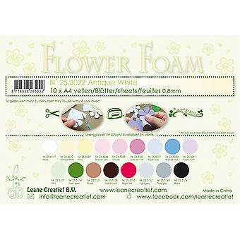 Leane Creatief Flower Foam Sheets A4 Antique White