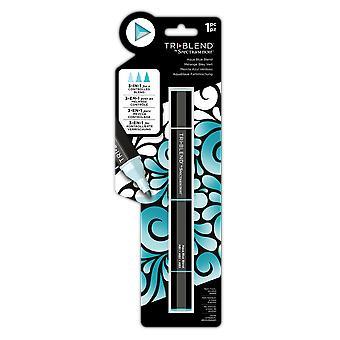 Spectrum Noir TriBlend Marker Aqua Blue Blend