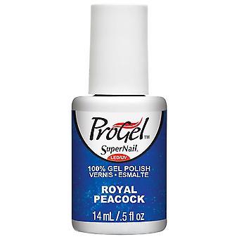 SuperNail ProGel Gel Nail Polish - Royal Peacock 14ml