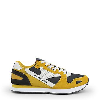 Us polo assn. 4117s0 men's synthetic suede sneakers