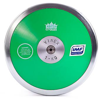 Low Spin Discus, 70% Rim Weight, 1kg