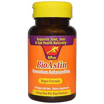 Nutrex Hawaii, BioAstin, 12 mg, 50 Vegan Soft Gels