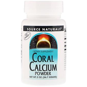 Fonte Naturali, Calcio di Corallo, Polvere, 2 oz (56,7 g)