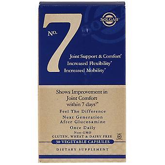Solgar, No. 7, Soporte y Confort Conjunto, 30 Cápsulas Vegetales