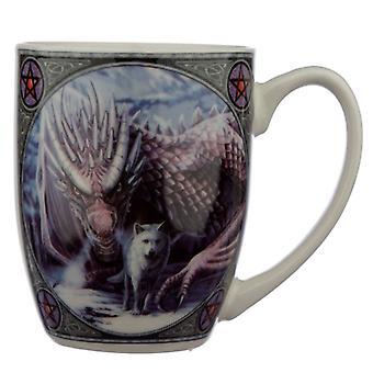 Lisa Parker Alliance Wolf and Dragon Mug