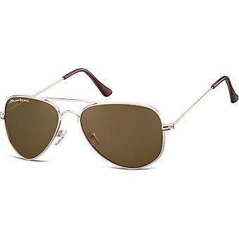 Sunglasses Unisex Cat.3 gold/brown (S94B)