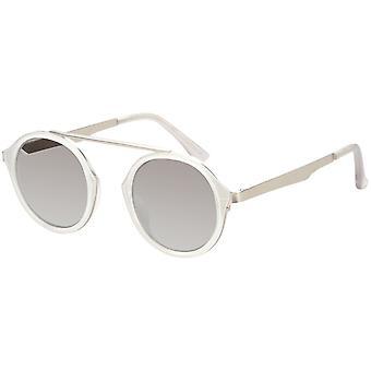 Sunglasses Unisex transparent with mirror lens (AZ-17-200)
